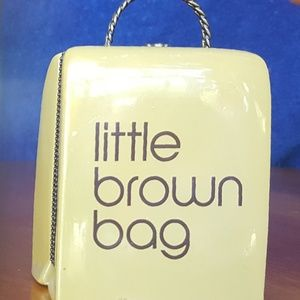 Vintage Bloomingdales little brown bag porcelain